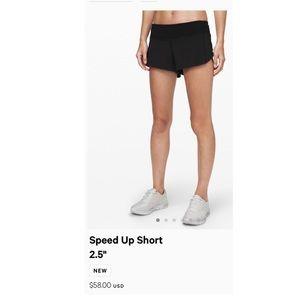 lululemon athletica Shorts - lululemon speed up shorts